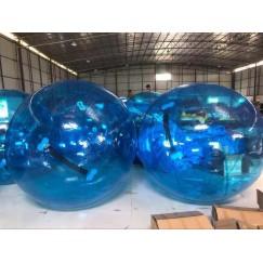 Водный шар синий