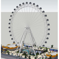 FERRIS WHEELS-GIANT WHEEL ZLGLC-62B