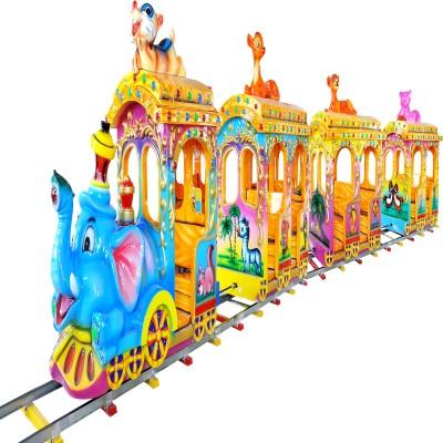 Аттракцион поезд zooland
