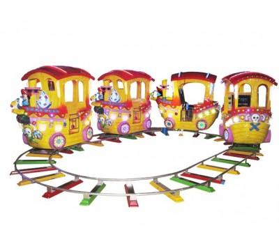 Поезда на рельсах