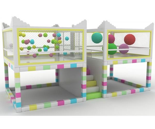 Детская батальная комната MAGIC BALLOON HOUSE