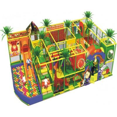 Батальный комплекс с декоративными пальмами