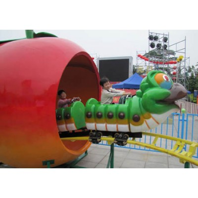 ГУСЕНИЦА KIDDIES RIDES-FRUIT WORM COASTER