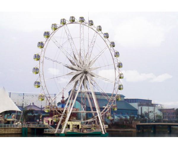 сертифицированный аттракцион колесо обозрения отвечающий всем требованиям технического регламента 038