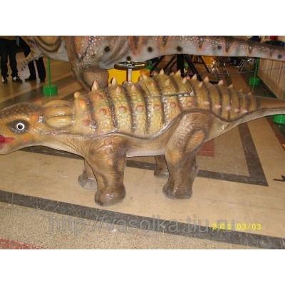 Электромобиль динозавр