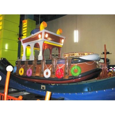 Качеля большой плавучий корабль