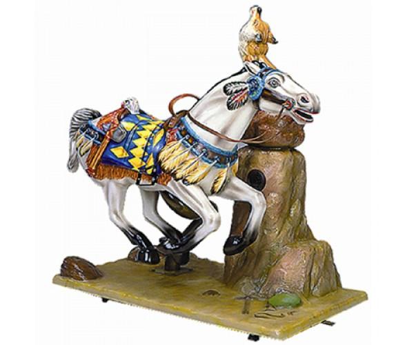 Аттракцион качалка Geronimo S Horse