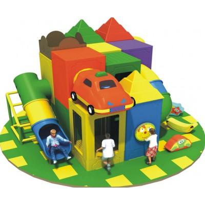 Батальный лабиринт детский с машинкой на крыше
