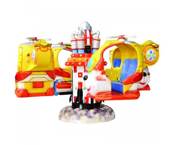 Мини-аттракцион для торгового центра: миниджет «Самолетики»