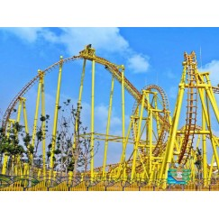 АМЕРИКАНСКАЯ ГОРКА ROLLER COASTERS-SUSPENDED ROLLER COASTER