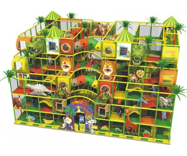 Большой батальный лабиринт семиметровый для детей